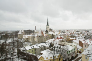 Old Tallinn, Estonia in winter
