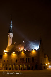 Estonia by night