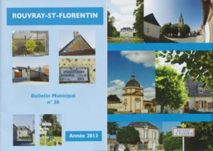 Rouvray-Saint-Florentin annual newspaper